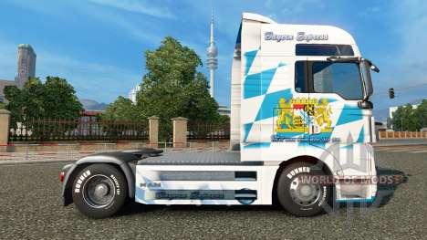 La peau Bavière Express sur le camion de l'HOMME pour Euro Truck Simulator 2