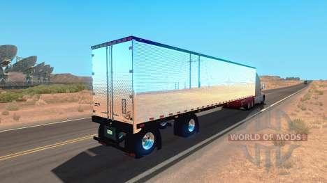 Chrome remorque pour American Truck Simulator
