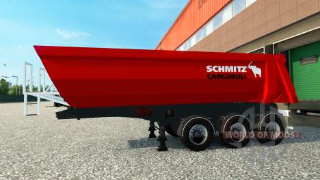 Skin Schmitz Cargobull semitrailer pour Euro Truck Simulator 2