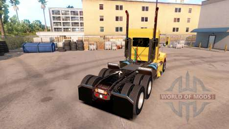 Kenworth T600 Day Cab pour American Truck Simulator