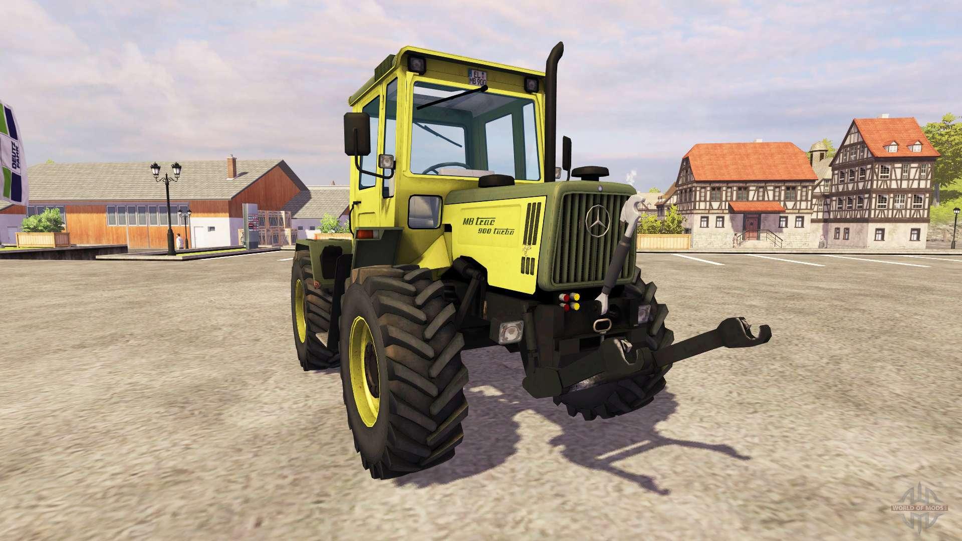 mercedes benz trac 900 turbo f r farming simulator 2013. Black Bedroom Furniture Sets. Home Design Ideas