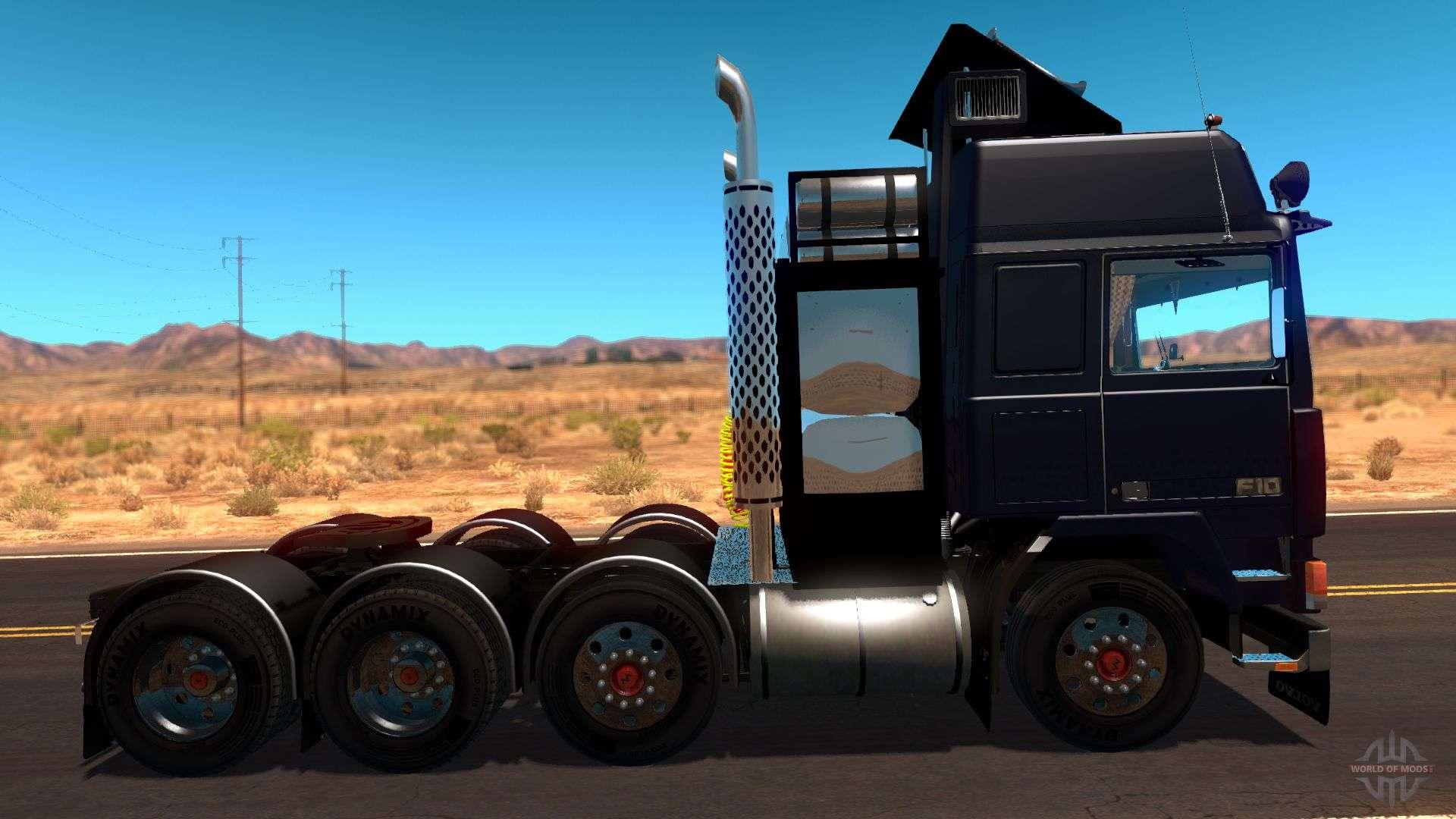 Volvo F10 Heavy Transporter Truck Pour American Truck