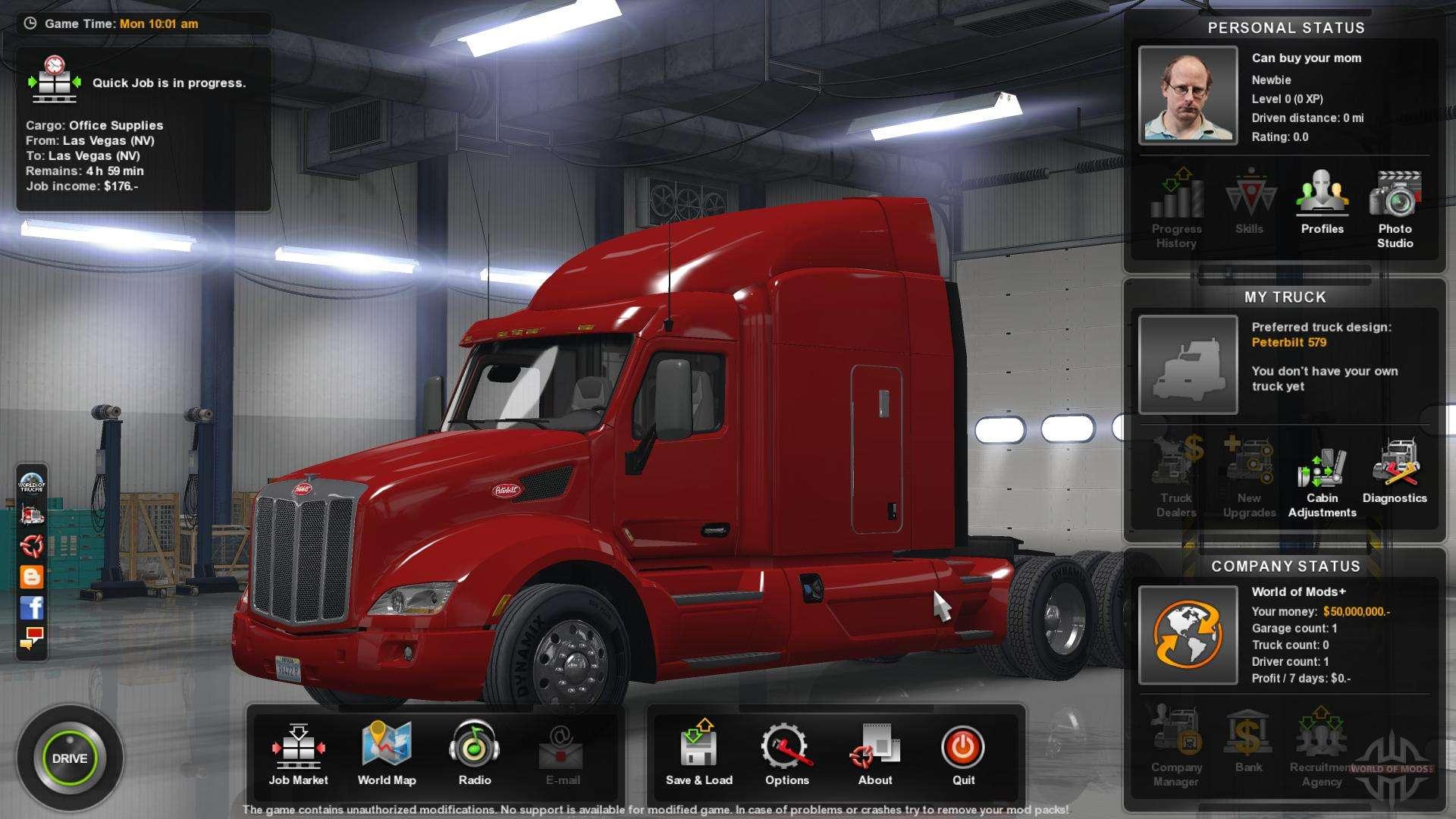 American Truck Simulator Télécharger PC - Jeuxx Gratuit