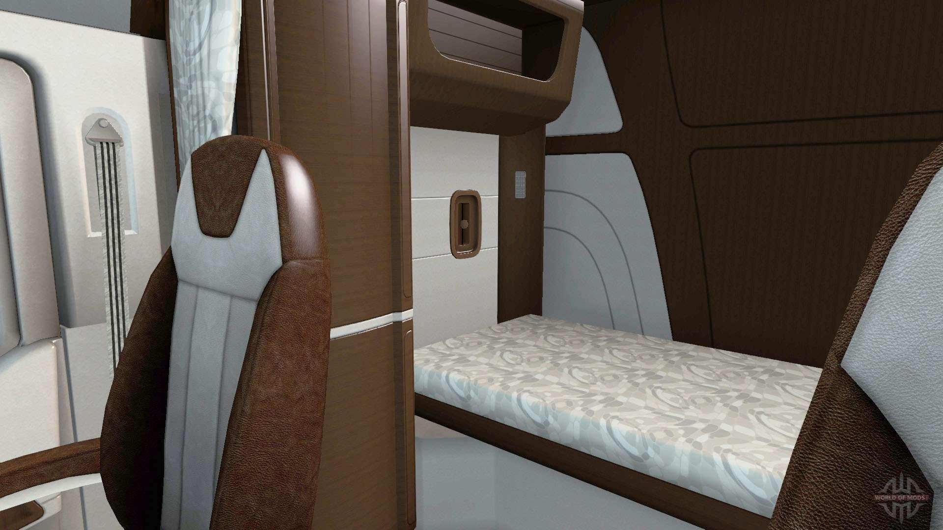 la nouvelle couleur peterbilt 579 int rieur pour american truck simulator. Black Bedroom Furniture Sets. Home Design Ideas