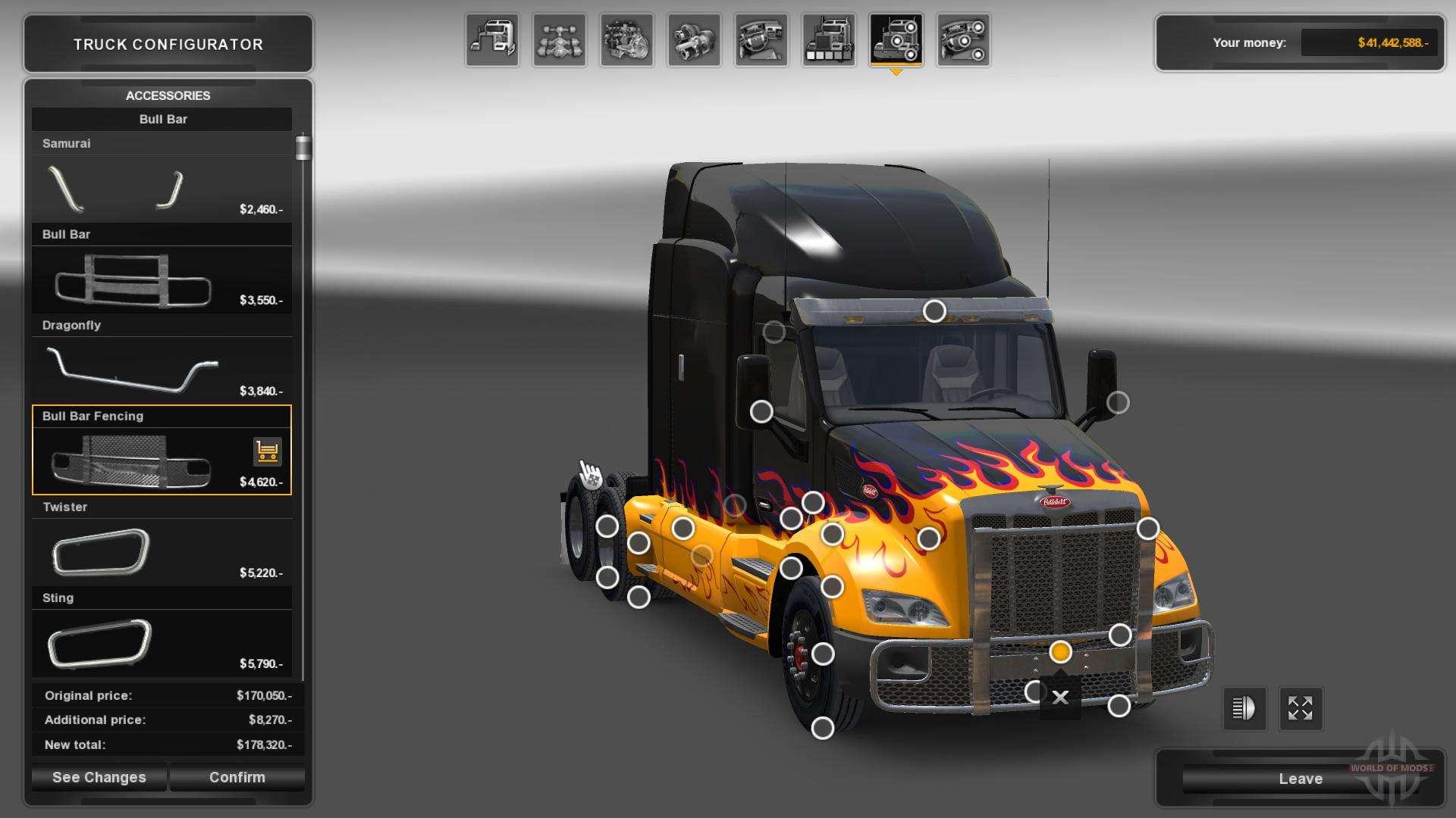 Réglage de l'ETS 2 pour American Truck Simulator