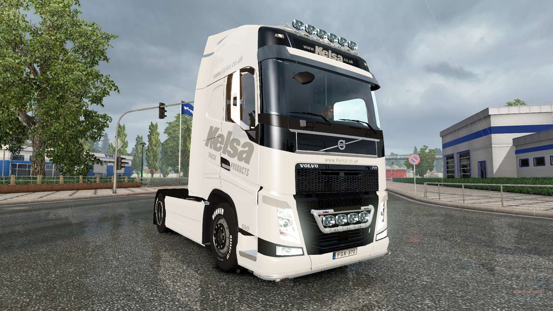 volvo fh16 2013 kelsa pour euro truck simulator 2. Black Bedroom Furniture Sets. Home Design Ideas