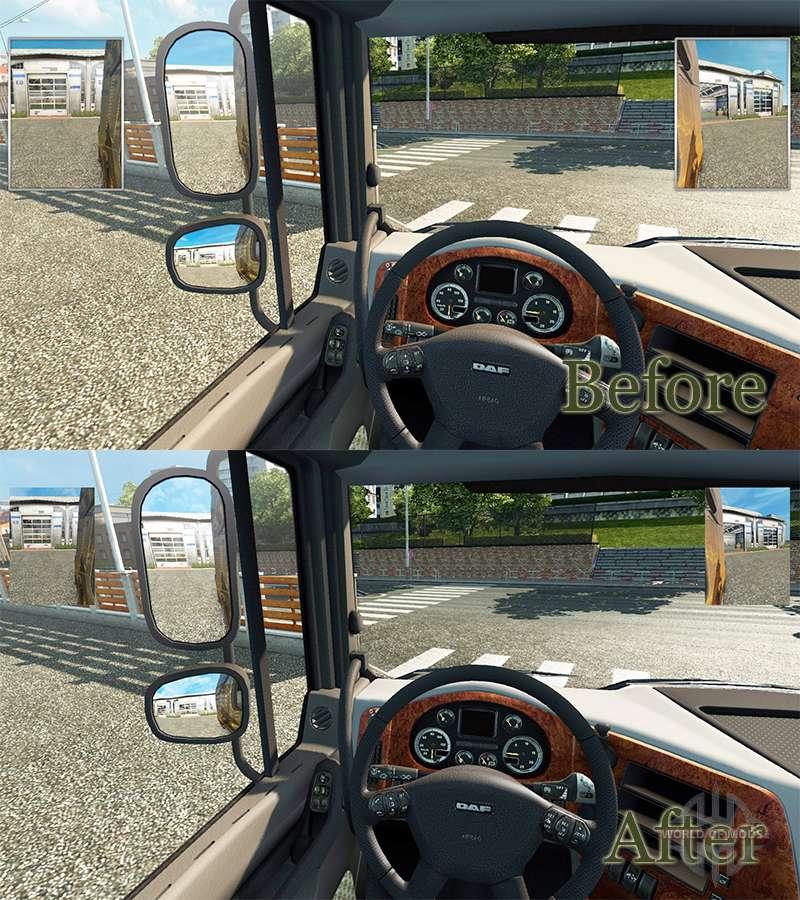 kleine spiegel f r euro truck simulator 2. Black Bedroom Furniture Sets. Home Design Ideas