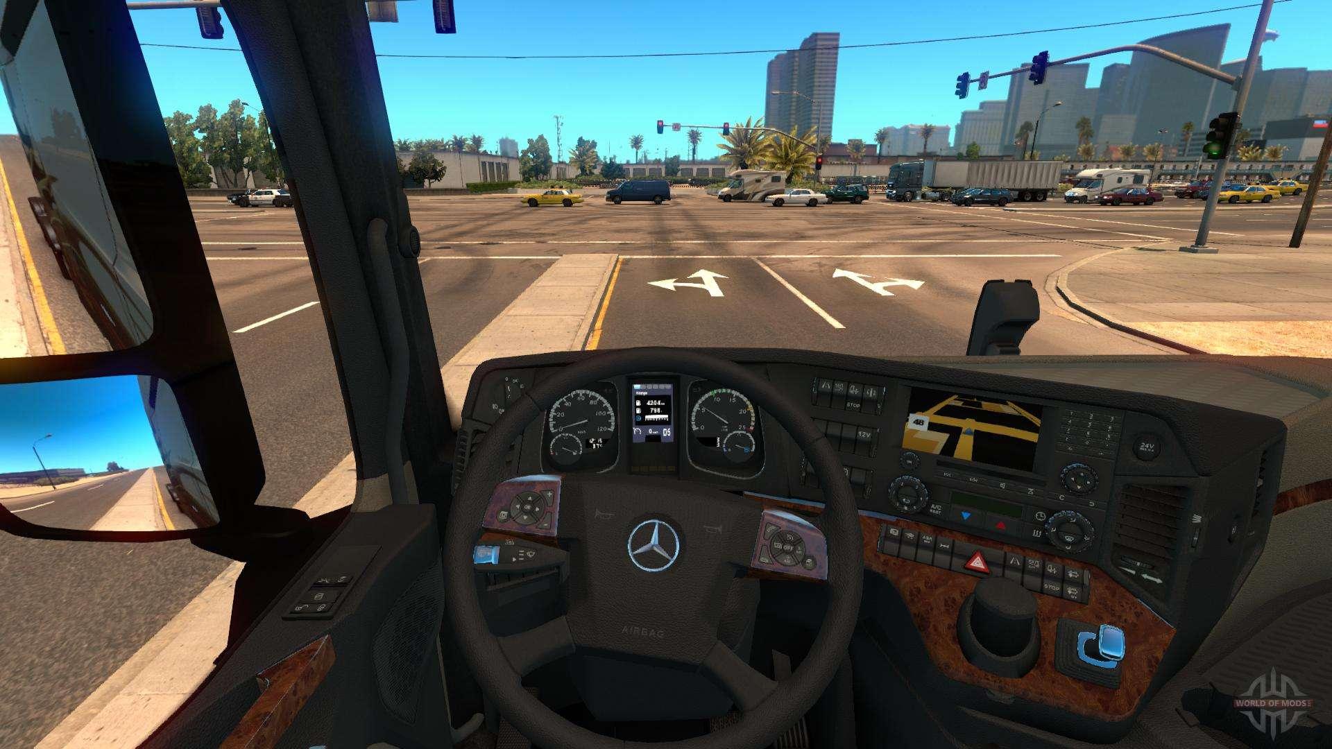 mercedes actros 2014 f r american truck simulator. Black Bedroom Furniture Sets. Home Design Ideas