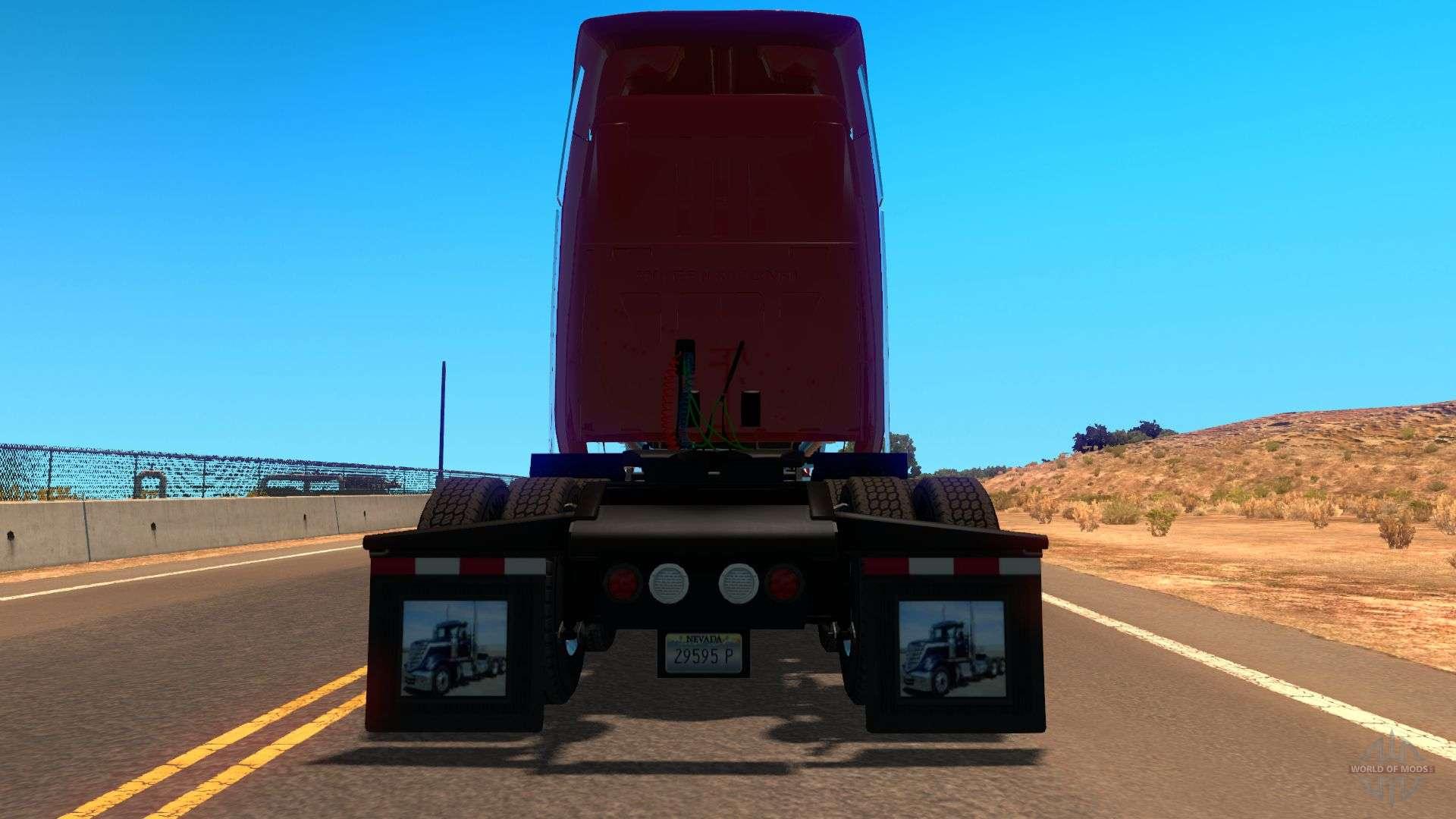 International Lonestar V2 0 Pour American Truck Simulator