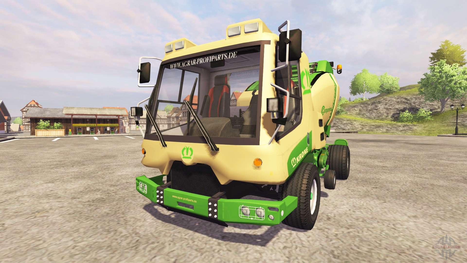 Krone comprima v180 osimobil pour farming simulator 2013