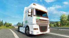 Skin PFAB on-tracteur DAF