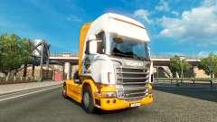 Mezzo Mix de la peau pour Scania camion