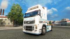 La bavière Express de la peau pour Volvo camion