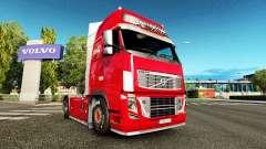 Peau-Coca-Cola tracteur Volvo
