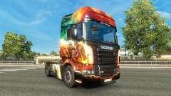 Die Guild Wars 2 skin für Scania-LKW