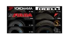 De vrais pneus