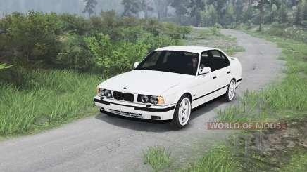 BMW M5 (E34) 1995 [25.12.15] pour Spin Tires