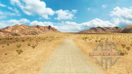 Straßen Northern Nevada für American Truck Simulator