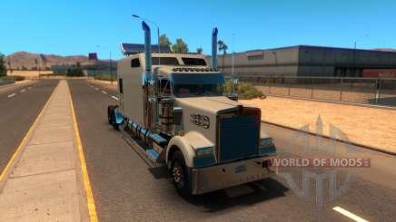 Kenworth W900B Long pour American Truck Simulator