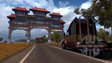 Karte Von China für American Truck Simulator