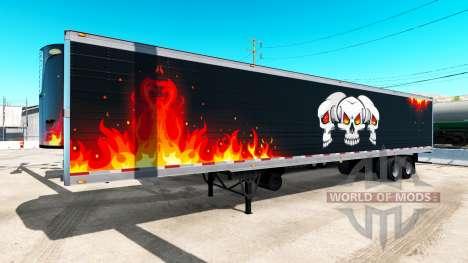 Frigorifique semi-remorque de Camionnage Reaper pour American Truck Simulator