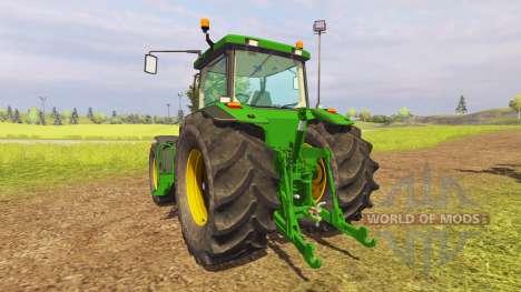 John Deere 8400 v1.3 pour Farming Simulator 2013