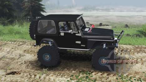 Jeep YJ 1987 [flat fender][03.03.16] pour Spin Tires