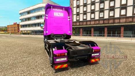Muller peaux pour les camions MAN, Scania et Vol pour Euro Truck Simulator 2