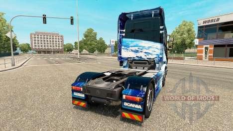 Erde skin für Scania-LKW für Euro Truck Simulator 2