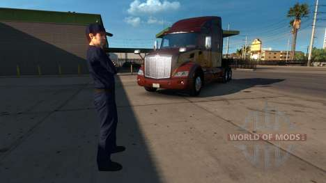 Le gestionnaire de pour American Truck Simulator