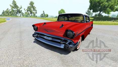 Chevrolet Bel Air Coupe 1957 pour BeamNG Drive