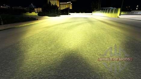 La lumière jaune de la v1.1 pour American Truck Simulator