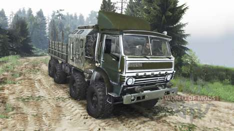 KamAZ-6350 Mustang [25.12.15] pour Spin Tires