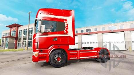 Scania 164L 580 v2.2.1 für American Truck Simulator