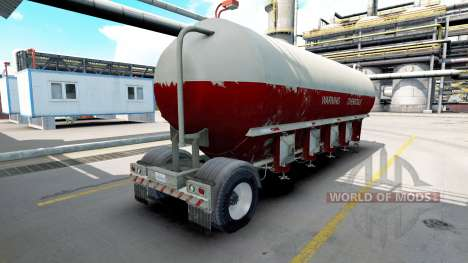 Semitrailer tank für American Truck Simulator