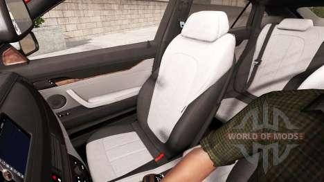 BMW X6 M50d 2015 pour American Truck Simulator