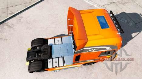 DAF XF Euro 6 pour American Truck Simulator