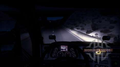 Winter mod (Frostigen Winter-Wetter-Mod v1.0) für American Truck Simulator