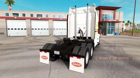 Lignes de la peau sur le tracteur Peterbilt pour American Truck Simulator