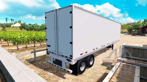 Le semi-métallique solide Great Dane v1.1 pour American Truck Simulator