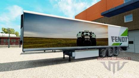 La Semi-Remorque Fendt pour Euro Truck Simulator 2