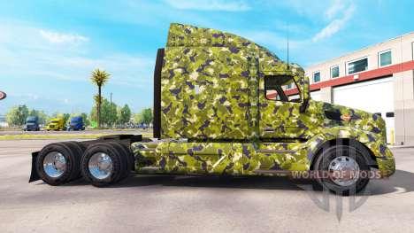 L'armée de la peau pour camion Peterbilt pour American Truck Simulator