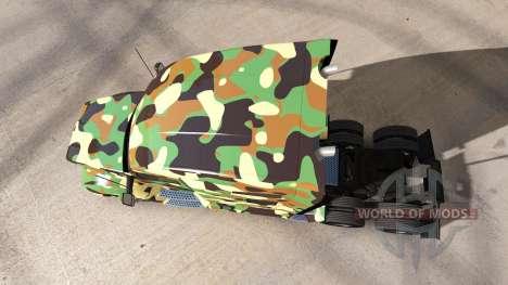 Armee-skin für die Kenworth-Zugmaschine für American Truck Simulator