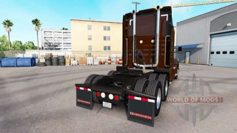 UPS Haut für die Kenworth-Zugmaschine für American Truck Simulator