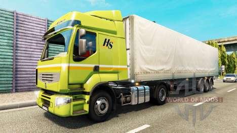 Malvorlagen für Güterverkehr für Euro Truck Simulator 2