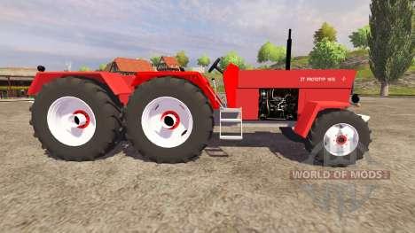 Fortschritt Prototype für Farming Simulator 2013
