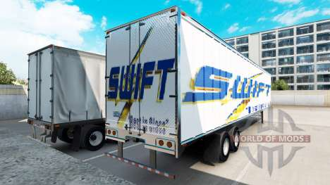 Trailer Swift für American Truck Simulator