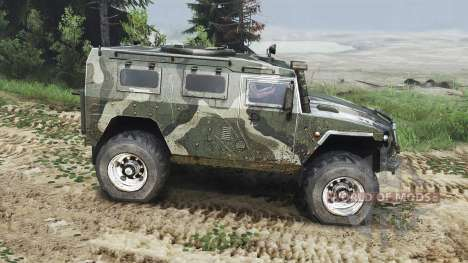 GAZ-2975 Tigre [diesel][25.12.15] pour Spin Tires