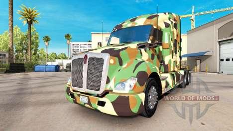 L'armée de la peau pour tracteur Kenworth pour American Truck Simulator