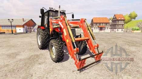 MTZ-1025 [loader] pour Farming Simulator 2013